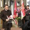 Odsłonięcie tablicy Z. Puławskiego